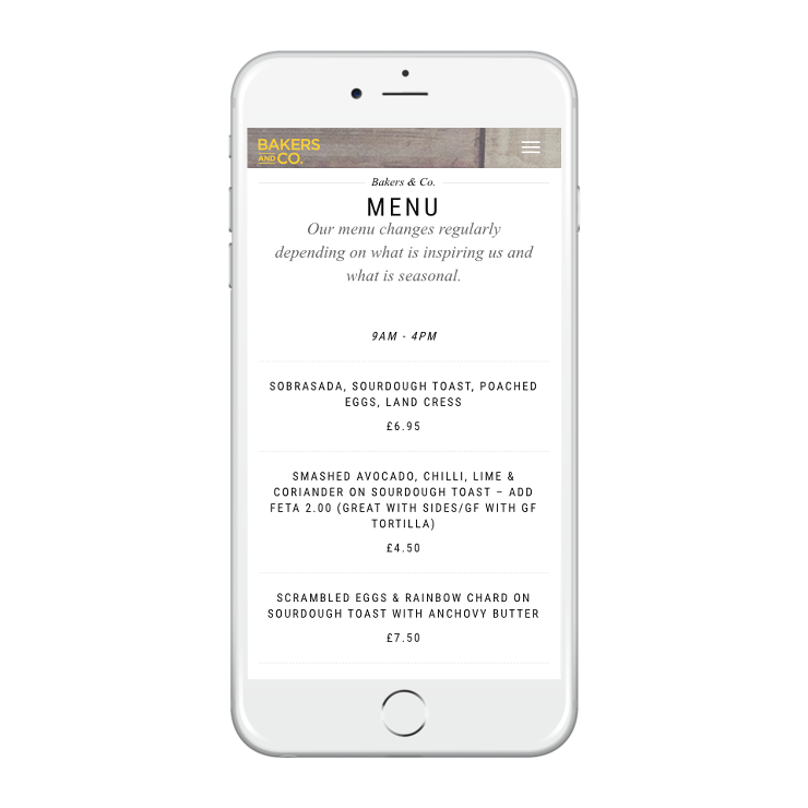 grizzly digital agency bristol online menus